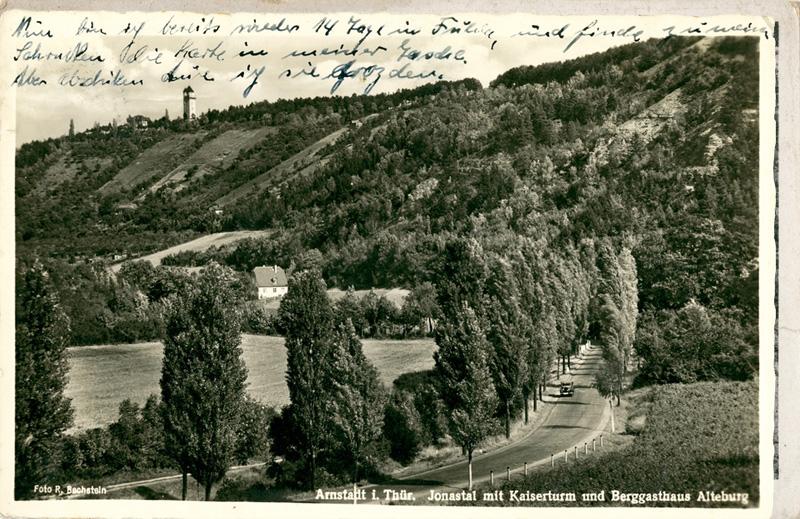 Jonastal (Jonas Valley), near Artstadt