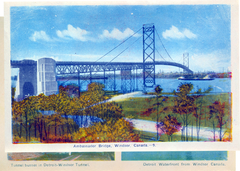 Ambassador Bridge, Windsor, Canada