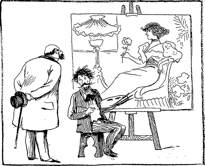 From Le Journal Amusant, 1894