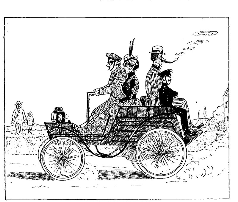 From Le Journal Amusant, 1899