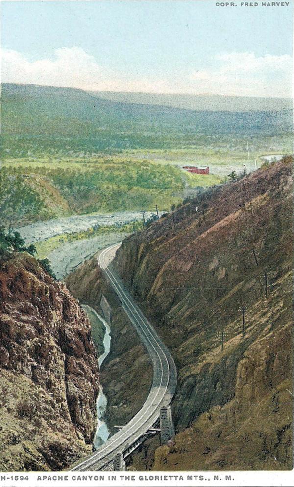 Apache Canyon in the Glorietta Mountains, New Mexico
