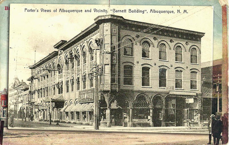 Barnett Building, Albuquerque, New Mexico