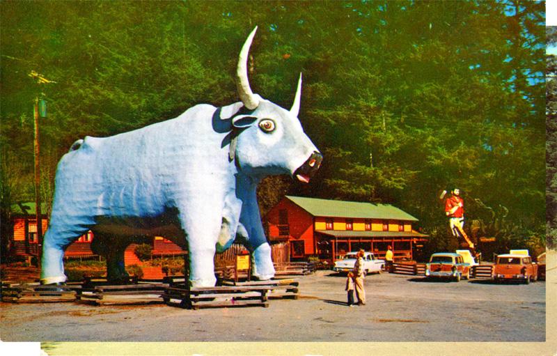 Paul Bunyan's Blue Ox