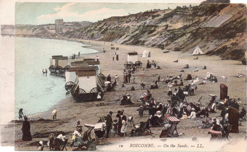 Boscombe, On the Sands