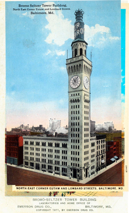 Bromo-Seltzer Tower Building, Baltimore, Maryland
