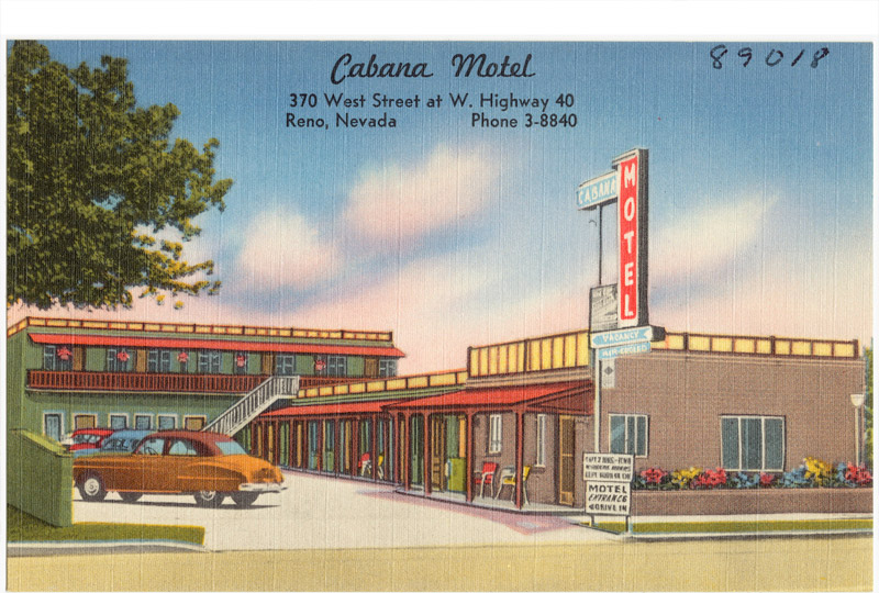Cabana Motel, Reno, Nevada