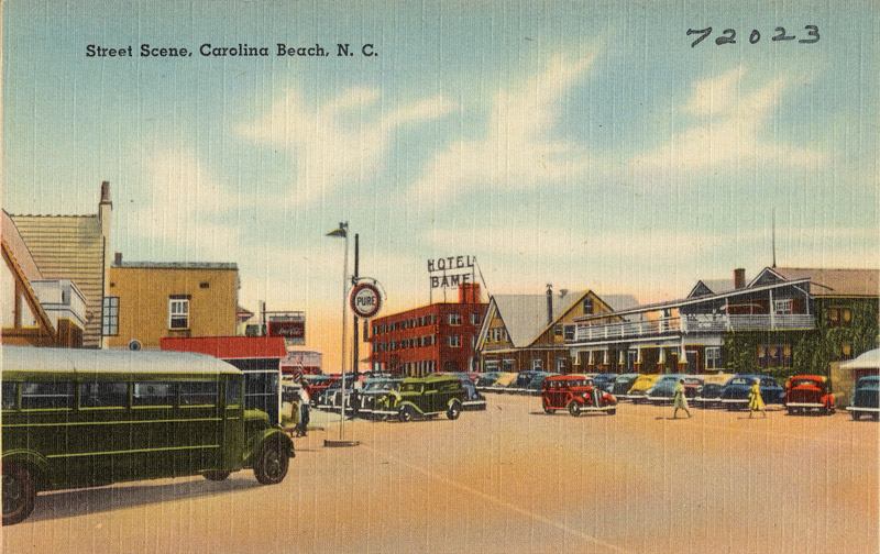 Street Scene, Carolina Beach, North Carolina