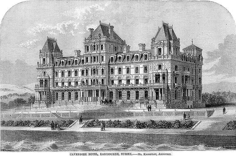 Cavendish Hotel, Eastbourne, Sussex, 1866