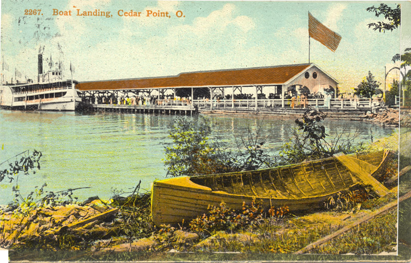 Boat Landing, Cedar Point, Ohio