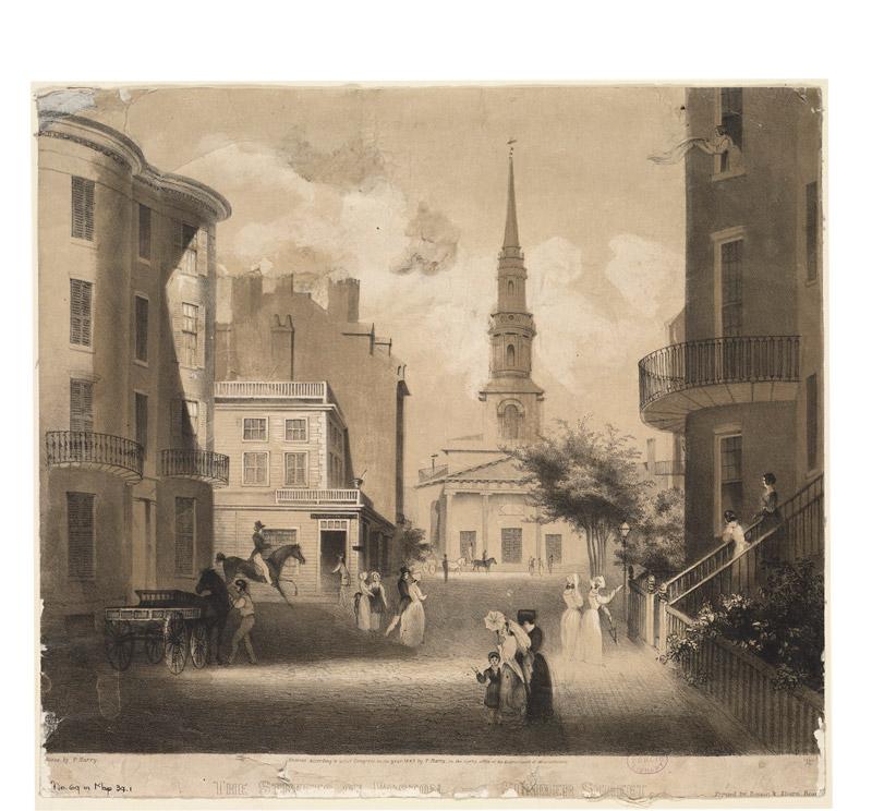 Church Green, Summer Street, 1843