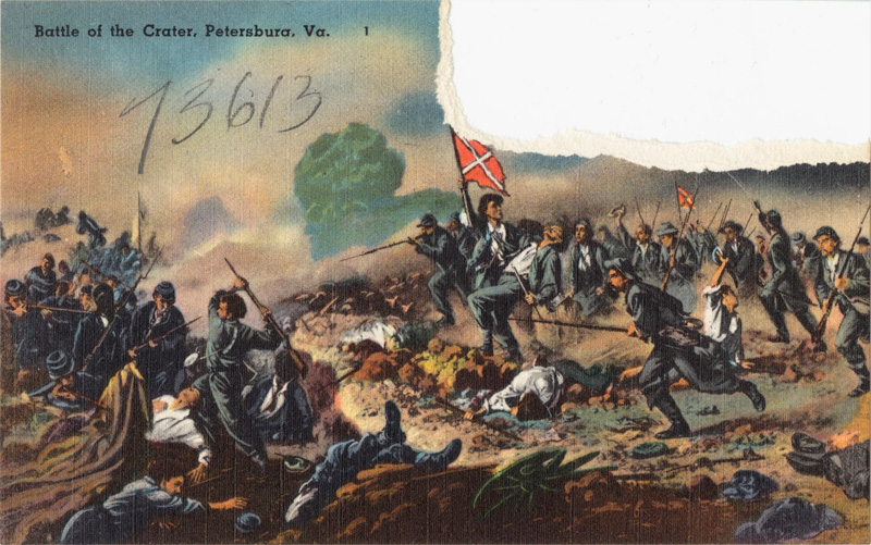 Battle of the Crater, Petersburg, VA
