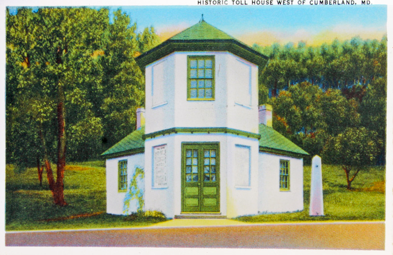 Historic Toll House west of Cumberland, Maryland
