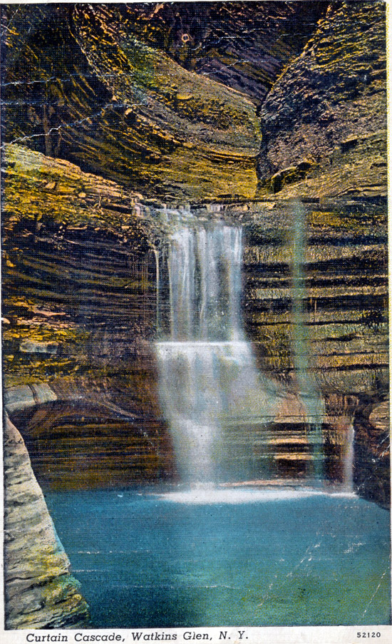 Curtain Cascade, Watkins Glen, New York