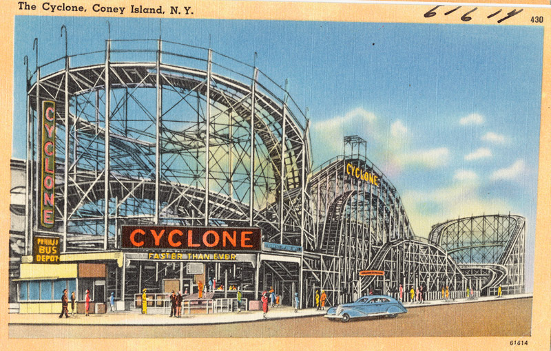 The Cyclone, Coney Island, New York