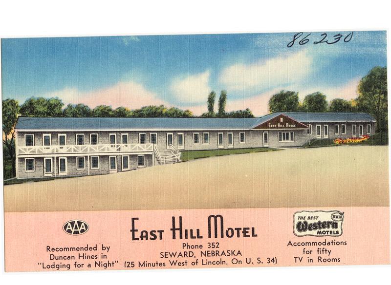East Hill Motel, Seward, Nebraska