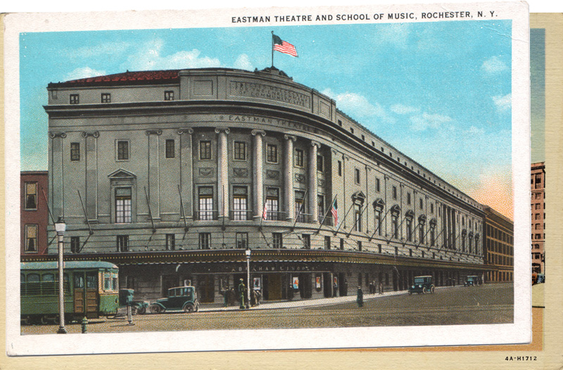 Eastman Theatre and School of Music, Rochester, New York