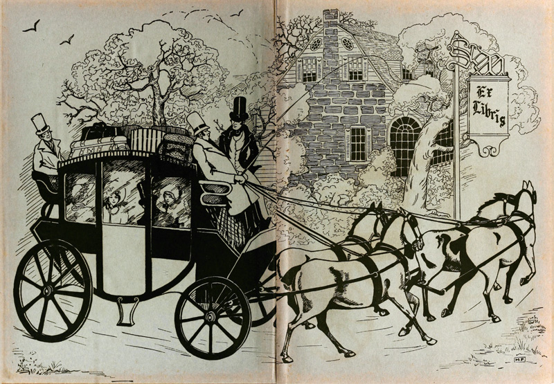 The front and back endpapers are from Saint Mary's 1931 yearbook