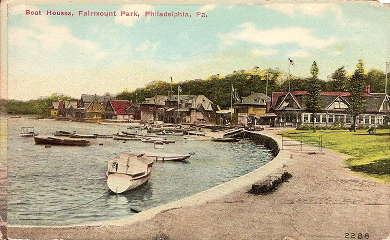 Boat Houses, Fairmount Park, Philadelphia, Pennsylvania