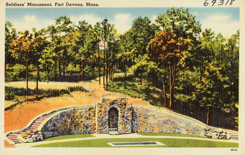 Soldiers' Monument, Fort Devens, Massachusetts