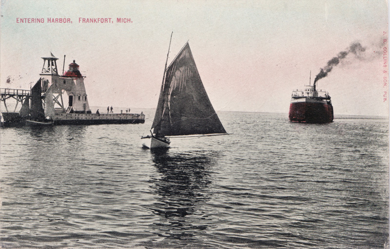 Entering Harbor, Frankfort, Michigan