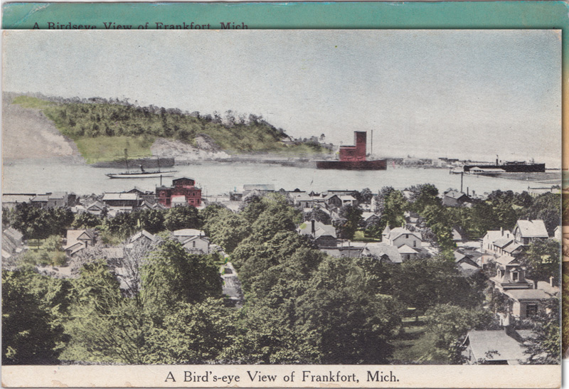 A Birdseye View of Frankfort, Michigan