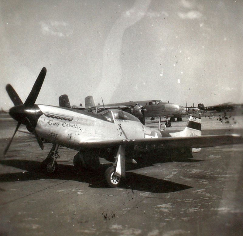The Gay Caballero, Irumagawa AFB, Honshu, Japan, 1946