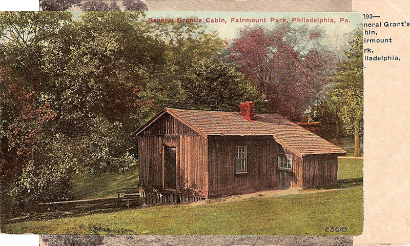 General Grant's Cabin, Fairmount Park, Phildadelphia, Pennsylvania