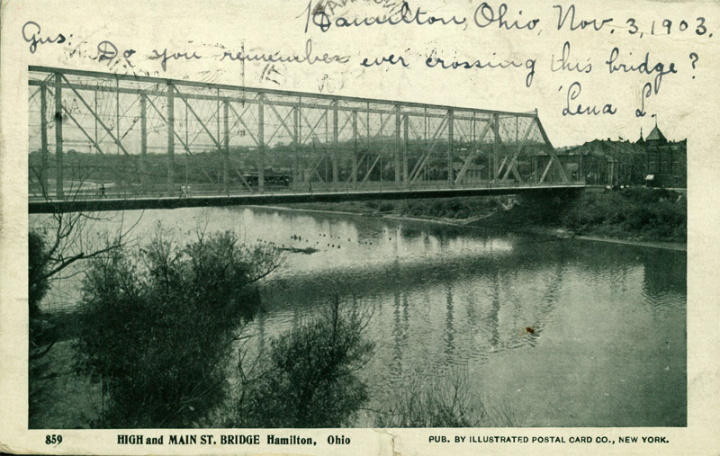 High & Main St. Bridge, Hamilton, Ohio