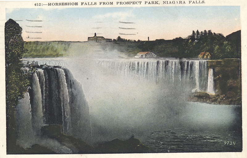 Horseshoe Falls from Prospect Park, Niagara Falls