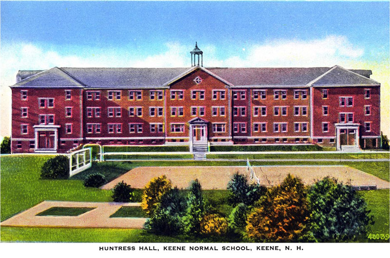 Huntress Hall, Keene Normal School, Keene, New Hampshire