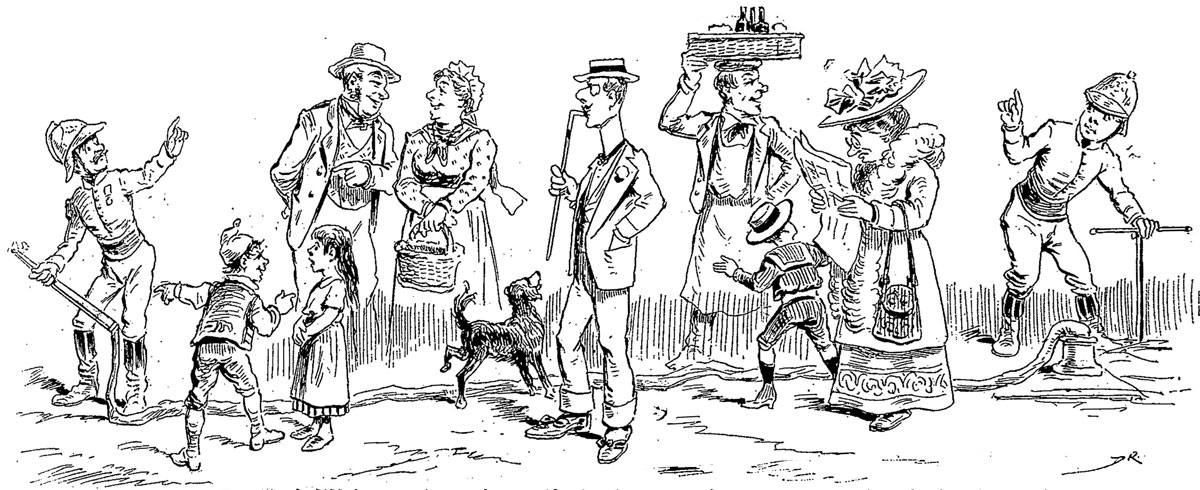 From Le Journal Amusant, 1911