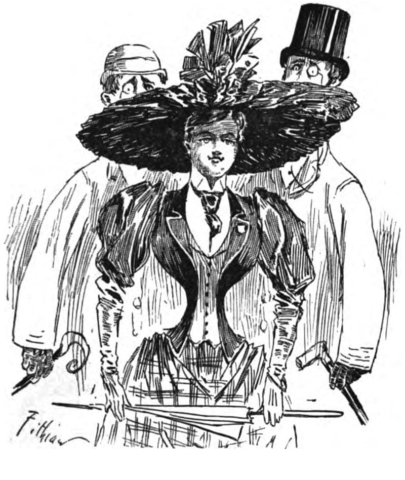 From Judge's Library, 1892