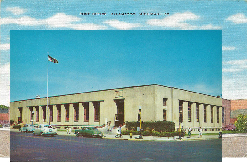 Post Office, Kalamazoo, Michigan