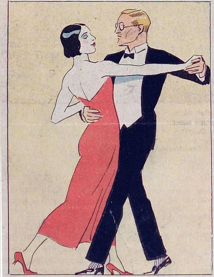 Dancers from Kladderadatsch, 1930