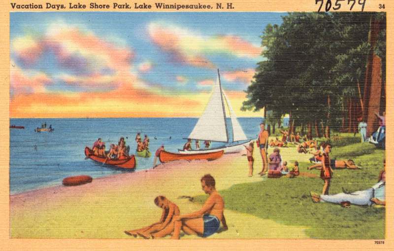 Vacation Days, Lake Shore Park, Lake Winnipesaukee, New Hampshire