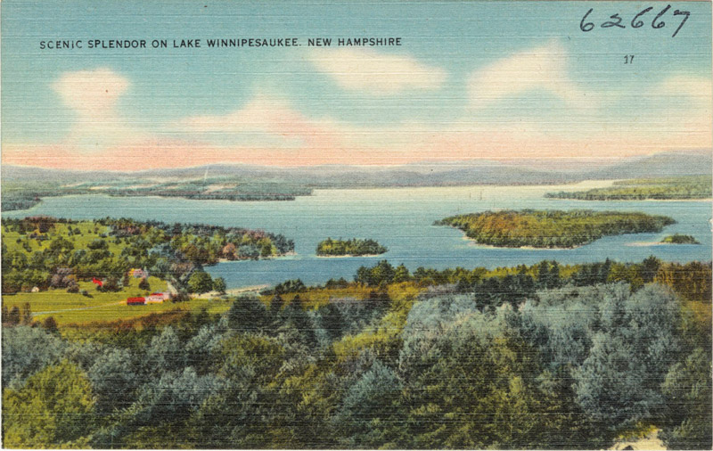 Scenic Splendor on Lake Winnipesaukee, New Hampshire