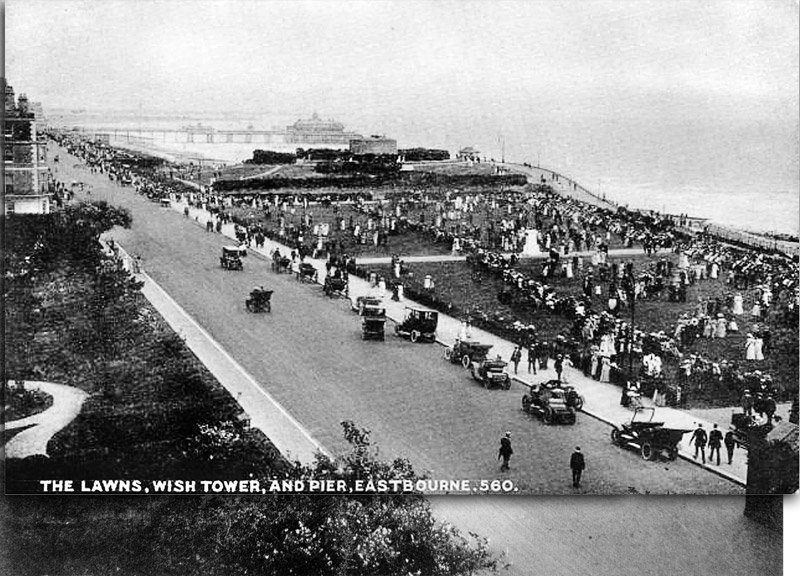 The Lawns, Wish Tower and Pier, Eastbourne