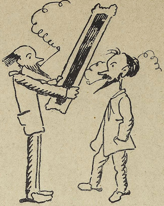 From Le Rire, 1899