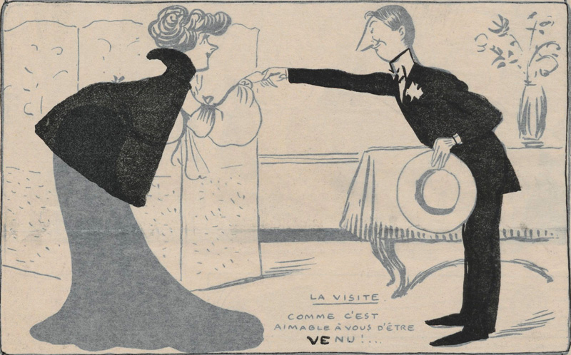From Le Rire, 1902