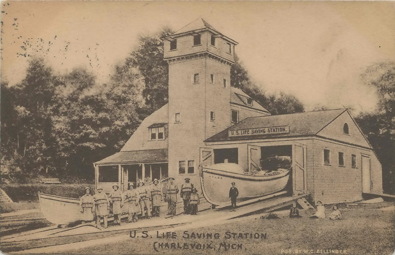 U.S. Life-Saving Station, Charlevoix, Michigan
