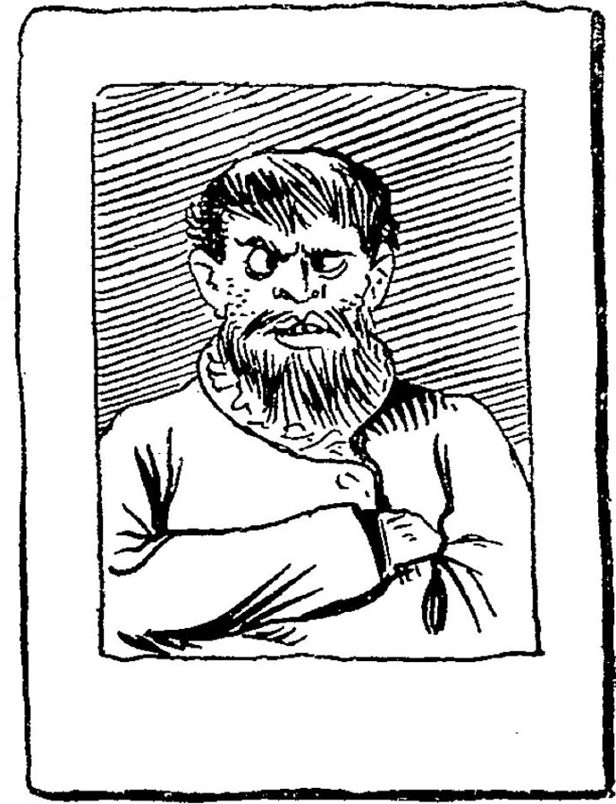 From Le Journal Amusant, 1896