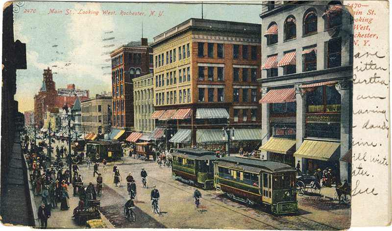 Main Street Looking West, Rochester, New York