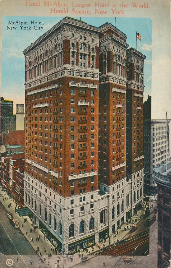 McAlpin Hotel, New York City
