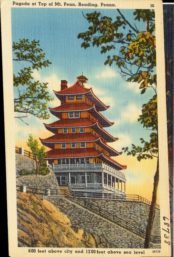 Pagoda at top of Mt. Penn, Reading, Pennsylvania