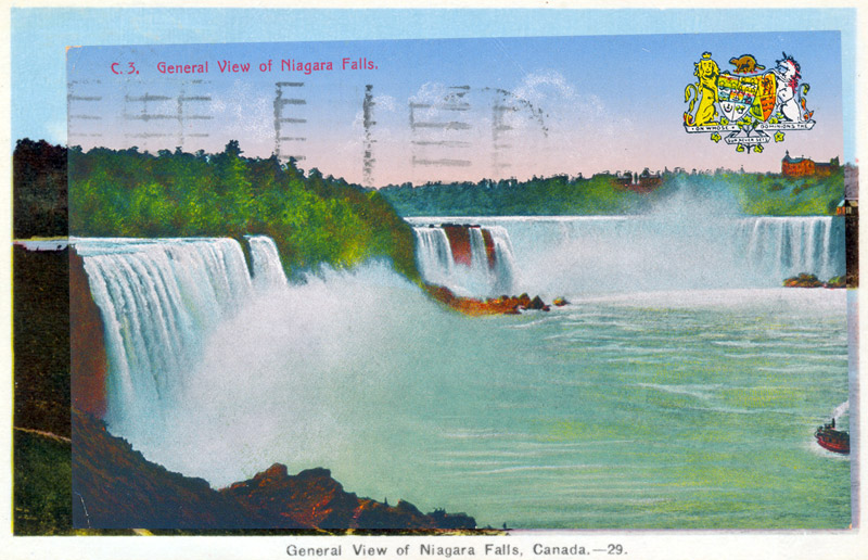 General View of Niagara Falls, Canada
