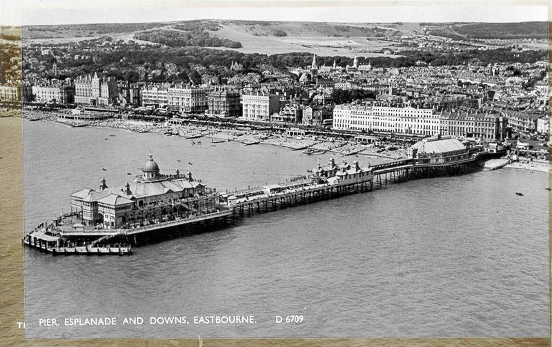 Pier, Esplanade and Downs, Eastbourne