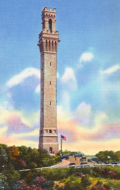 Pilgrim Memorial Monument, Provincetown, Massachusetts