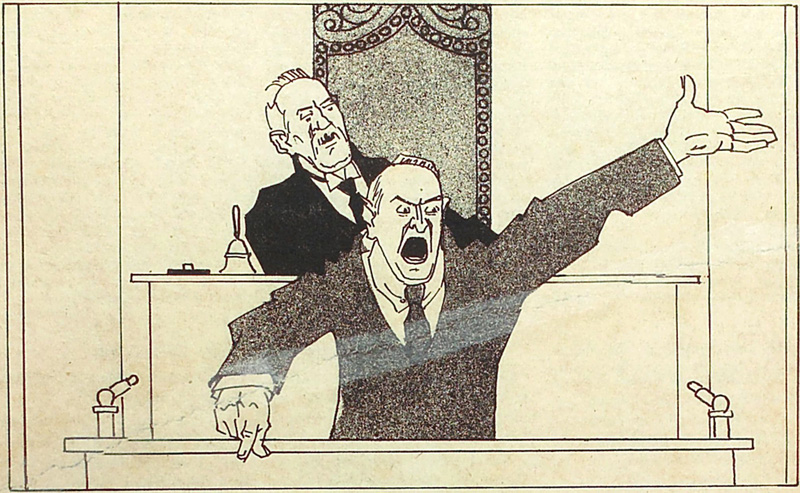 From Kladderadatsch, 1924