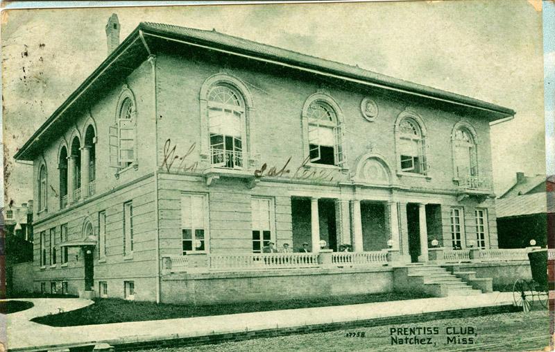 Prentiss Club, Natchez, Mississippi