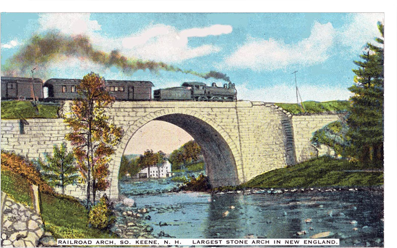 Railroad Arch, So. Keene, New Hampshire